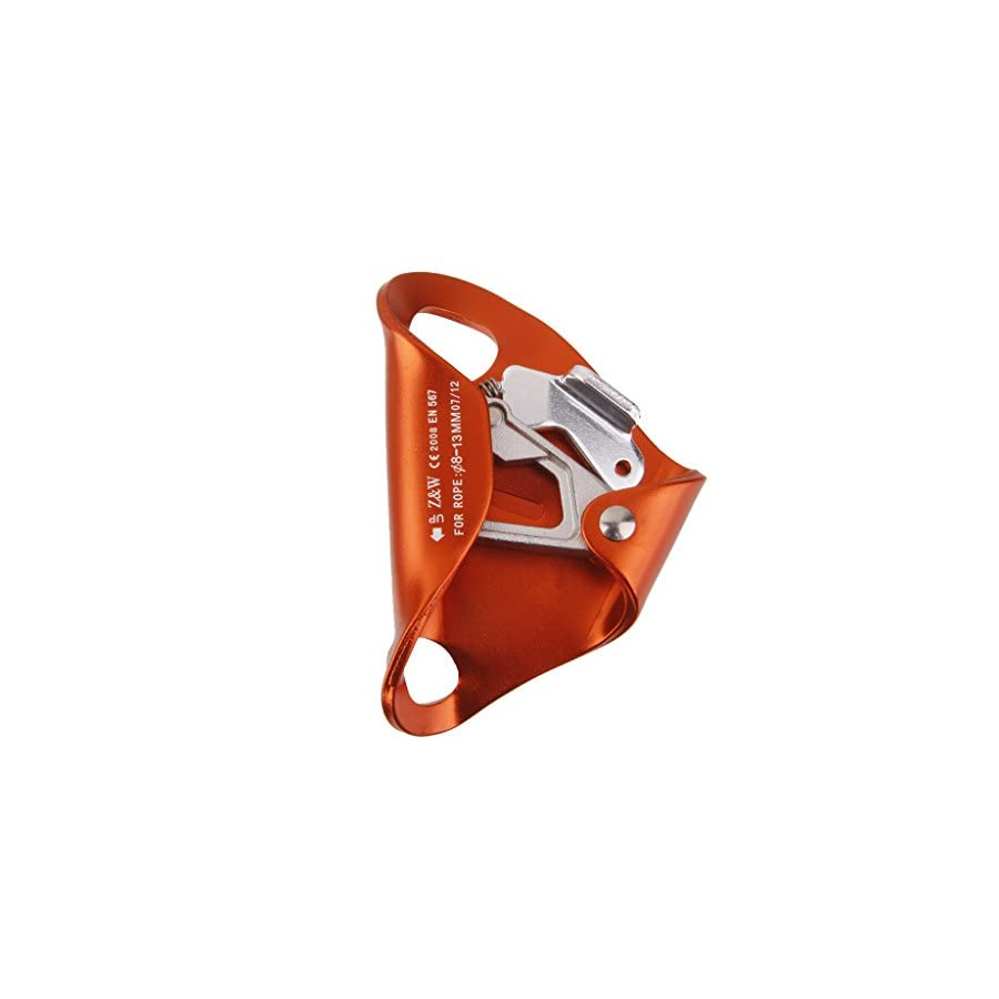 MagiDeal Outdoor Chest Ascender for 8mm 13mm Rope Climbing Rescue Caving Orange