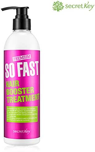 SECRET KEY Premium So Fast Hair Booster Treatment 12.2 fl.oz. (360ml) - pH Balance Control, Smooth and Glossy Hair, Intensive Supply of Nutrition to Damaged Hair