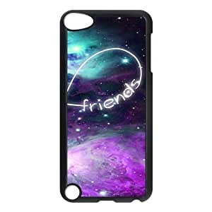 Personalized Best Friends Protective Hard PC Back Fits Cover Case for iPod Touch 5, 5G (5th Generation)
