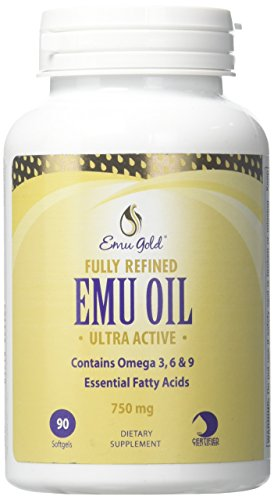 Emu Gold Fully Refined Oil Softgels, 90 -