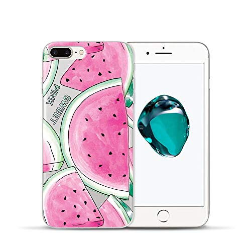 Summer Fruit Lemon Watermelon Pattern Cell Phone Case For iPhone 08 For iPhone 7 ()