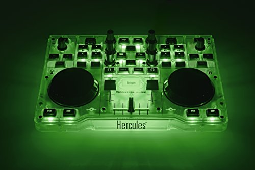 Hercules DJControl Glow Controller with LED Light and Glow Effects