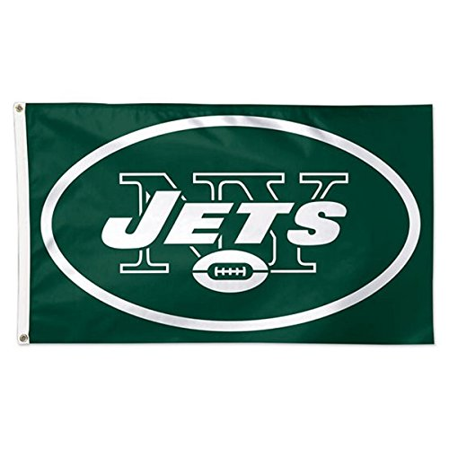Wincraft NFL New York Jets Deluxe Flag, 3' x 5'