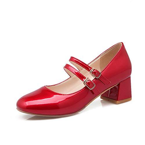 Sandales Compensées AdeeSu Red Femme SDC05651 61q5TqwF