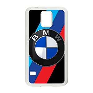 BMW For Samsung Galaxy S5 I9600 Cell Phone Case White ADS080755
