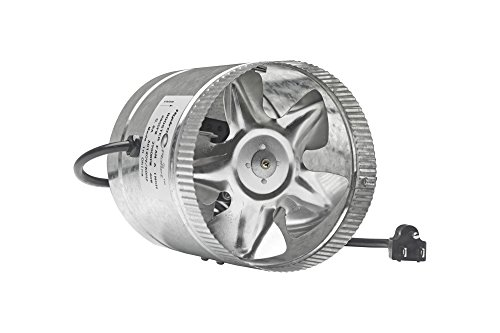 Hydroplanet™ 4 Inch Duct Booster Fan exhaust Fan High Cfm 4 65 100 CFM 4 Inch