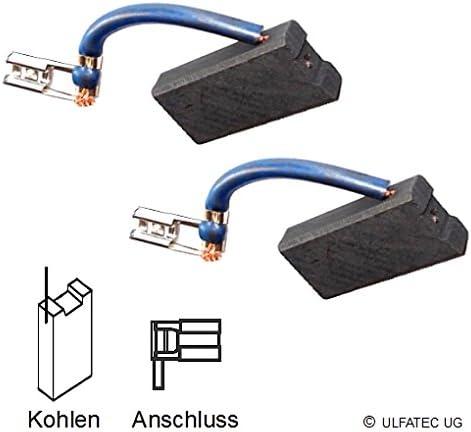 2155 ULFATEC /® Kohleb/ürsten Motorkohlen Kohlestifte SPIT M 1800-6,3x12,5x23,5mm