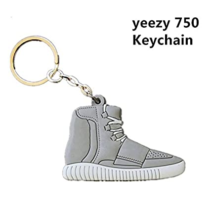 official photos be6b2 518df Amazon.com : Yeezy Boost 750 Sneaker Keychain (Gray ...