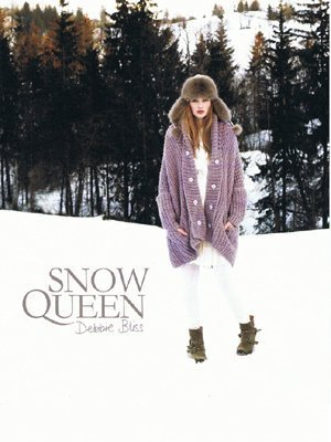 Debbie Bliss - Snow Queen Pattern Book (Debbie Bliss Alpaca Silk)