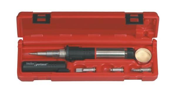 Kit de soldadura Weller para soldador de butano con autoencendido: Amazon.es: Bricolaje y herramientas