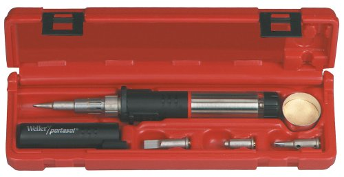 Soldering Kit Butane - Weller PSI100K Super-Pro Self-Igniting Cordless Butane Soldering Iron Kit