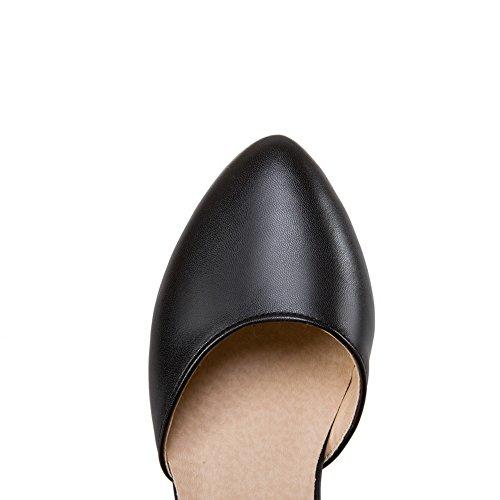 Sandales EU 5 AdeeSu Noir 36 Noir Femme Compensées SwwdZxv