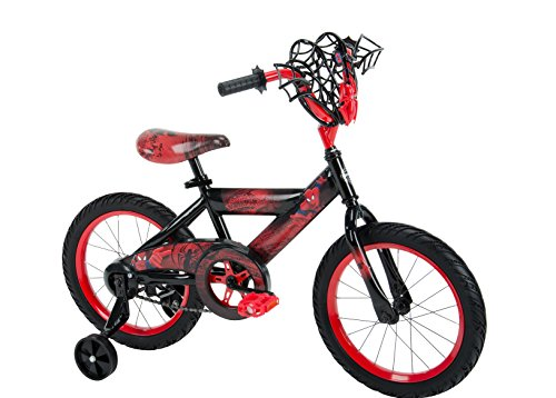 Marvel Spider-Man 16-inch Bike by Huffy, Ideal for Ages 4...