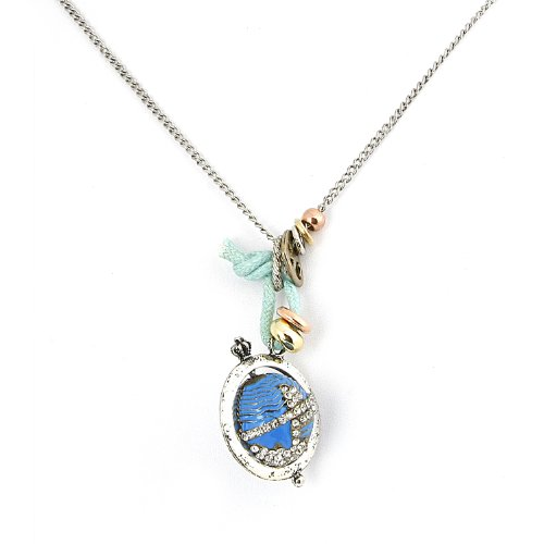 silver-chain-link-necklace-with-globe-and-peace-love-pendants