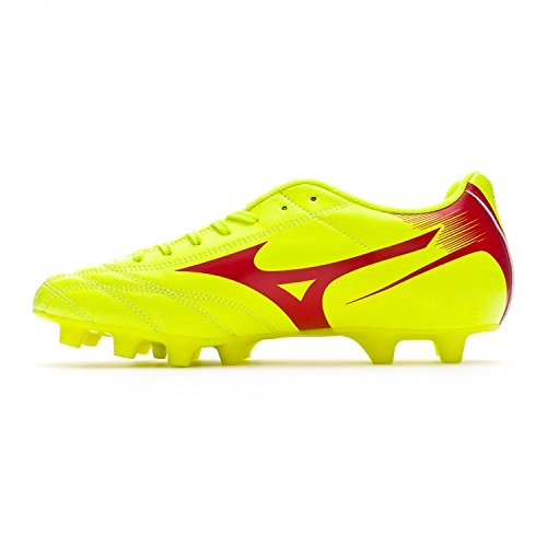 Mizuno Chaussures Football Homme – Monarcida Neo mD – p1ga1824 – 45 – Safety Yellow/marsred-40