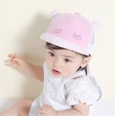 a3782d2e0 Buy Generic Pink   Children Summer Net Baby Hat Private Baseball Cap ...