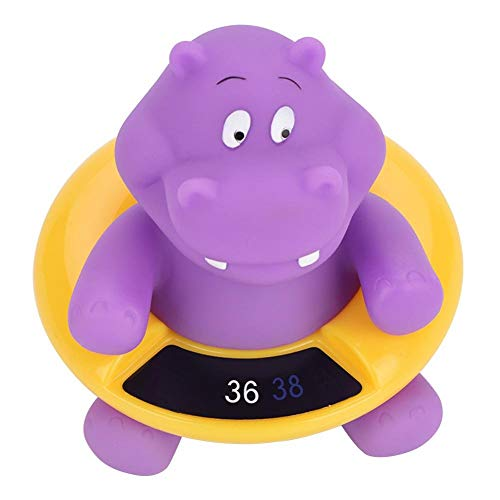 Baby Bath Thermometer, LED Temperature Display Floating Cute Animal Thermometer Floating Toy(#1)