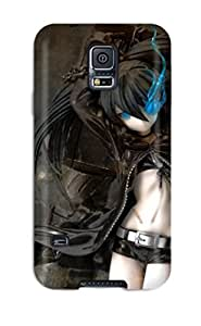 Hot Black Rock Shooter Tpu Case Cover Compatible With Galaxy S5 3199161K93710697