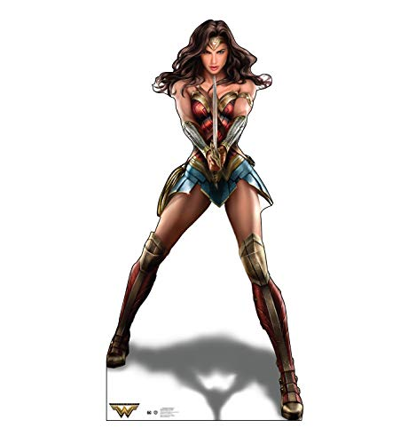 Advanced Graphics Wonder Woman Life Size Cardboard Cutout Standup - Wonder Woman (2017 Film) from Advanced Graphics