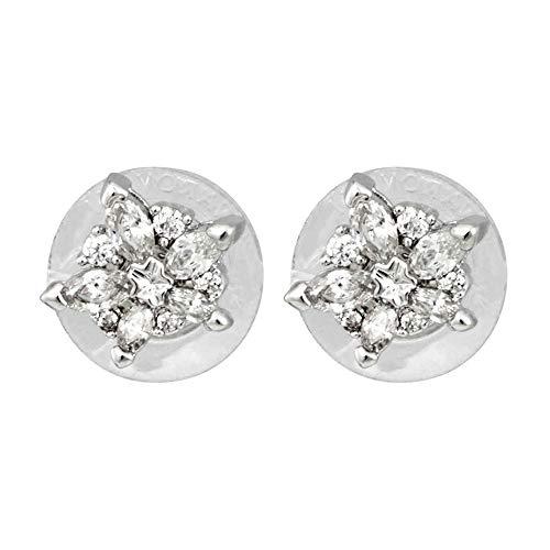(Swarovski Lady Pierced Earrings - White - 5390190)
