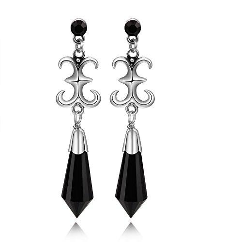 Cosplaywho Sailor Moon Black Lady Earrings 1 Pair