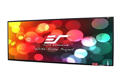 - Elite Screens Insta-DE2af, 5' x 20', Adhesive Dry Erase Whiteboard Projection Screen Film with Frame Border, IWB5X20W2AF