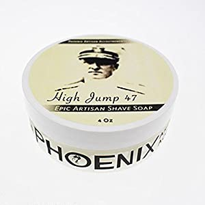 High Jump 47 Luxury Shaving Cream Soap - Phoenix Artisan Accoutrements - 4oz