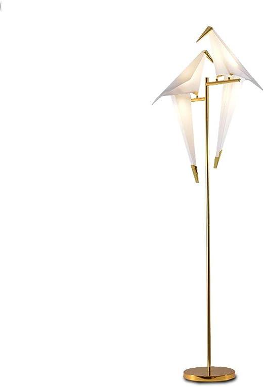 Lámparas de Pie Lámpara de Piso Luz de Pie Lámpara de pie LED Bird - Luz Moderna