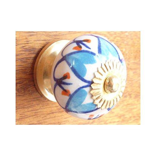 int. d'ailleurs - petali turchese - KNB799 int. d' ailleurs