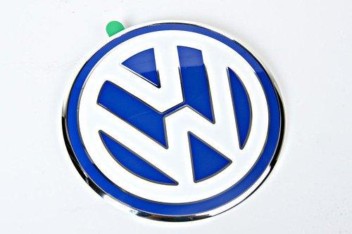 Genuine Volkswagen New Beetle 1998-2005 Trunk Emblem Rear White & Blue