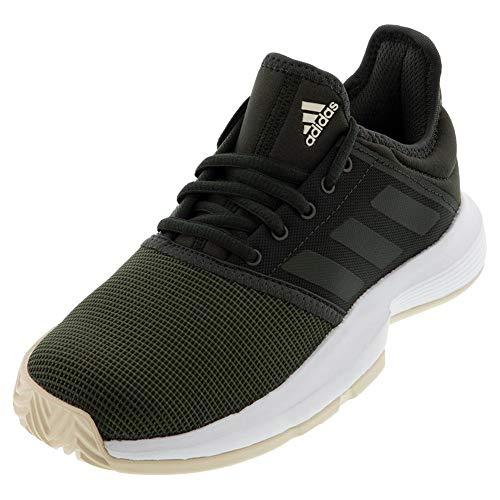adidas Women's GameCourt Tennis Shoe, Legend Earth/Linen, 8.5 M US