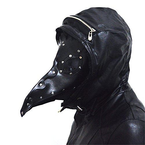 Steampunk-Plague-Beak-Mask-Gothic-Cosplay-Retro-Doctor-Bird-Mask