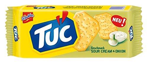 TUC Cracker Sour Cream & Onion 100 g (French Cream Cheese)