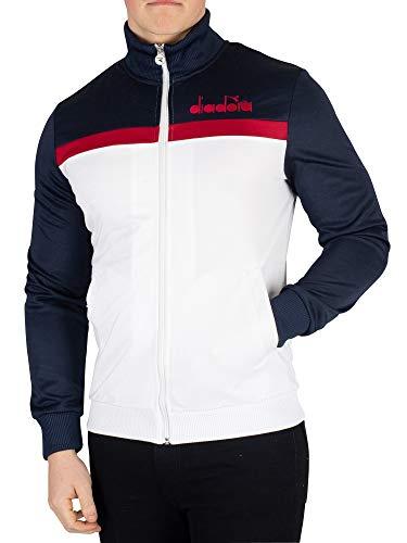 Diadora Men's Track Jacket, Multicoloured, M
