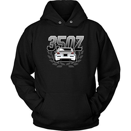 Nissan 350Z Fairlady JDM Lowered Camber Hoodie Sweatshirt Black