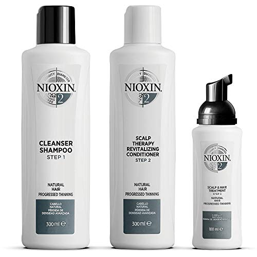 NIOXIN System 2 for Natural Hair with Progressed Thinning