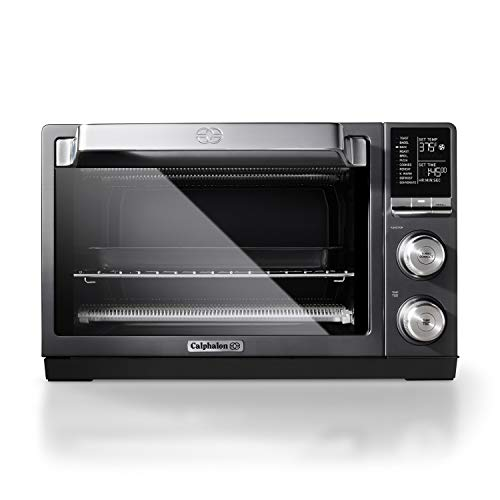 Calphalon Quartz Heat Countertop Toaster Oven, Dark Stainless Steel ()