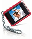 Coby DP151RED 1.5-Inch Digital TFT LCD Photo Keychain, Red