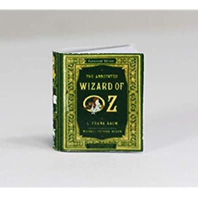 Dollhouse Miniature 1:12 Scale Minature Book - Wizard of Oz: Toys & Games