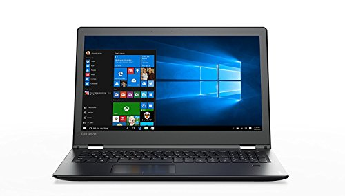Lenovo Flex 4 2-in-1 Laptop/Tablet 15.6 Full HD Touchscreen Display, Black (Intel Core i5-7200U, 8GB, 256GB SSD, Intel HD Graphics 620, Windows 10) 80VE000HUS