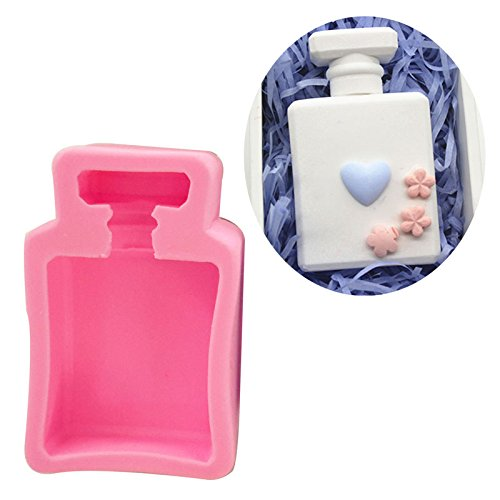 Perfume Bottle Vase (WYD DIY Easy Release Moulding Moulds Aromatherapy Gypsum Mould Fondant Moulds 3D Stereo Vase Mold Perfume Bottle Molds)