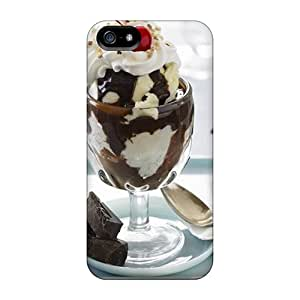 Protective Cases With Fashion Design For Iphone 5/5s (hot Fudge Sundae)