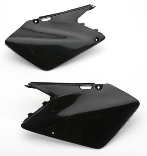Ufo Side Panels - Ufo Plastic s Side Panels Black for Suzuki RM 85 00-09