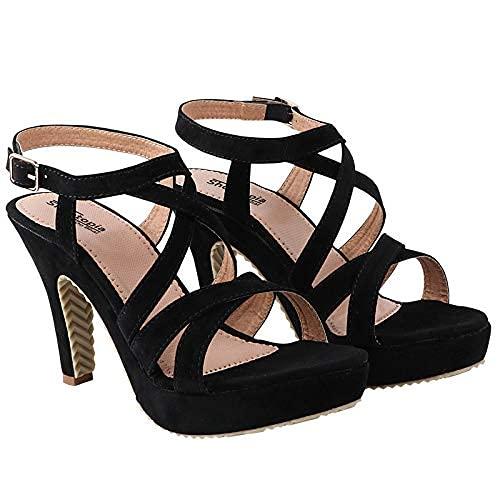 Do Bhai Women Material Synthtic Stylish Fashion Heel Sandal RJ-45-styleBYR_02