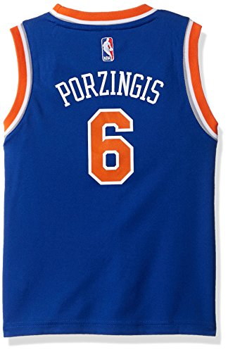 NBA New York Knicks Children Boys Replica Player Jersey-Road, Large(7), Blue
