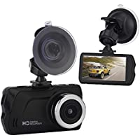Dash Cam, ULU Dashboard Camera Recorder with 4 Wide Digital Zoom, Car Black Box with 3.0 IPS, 1080P FHD, G-Sensor, WDR, Loop Recording, Night Mode 170° Wide Angle, no TF Card