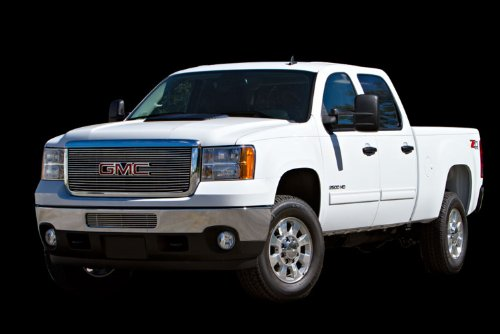 - Carriage Works 44862 Billet Polished Aluminum Bolt-Over Grille Insert for 2011 GMC Sierra 2500/3500 HD