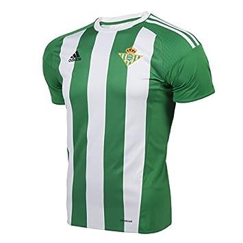 Adidas 1ª Equipación Betis FC Camiseta, Hombre, Verde, 7-8 años: Amazon.es: Deportes y aire libre