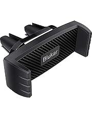 Blukar Telefoonhouder voor in de auto, universele 360° draaibare autoventilatie, mobiele telefoonhouder, compatibel met iPhone 12 Mini/12 Pro Max/11 Pro/Xs Max/XR/X/8, Samsung S10/S9/S8, Huawei, smartphone