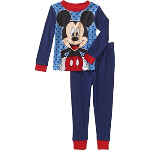 Chip And Dale Toddler Costumes (Disney Mickey Mouse Blue Palama Sleepwear Set For Boys (18 Months))